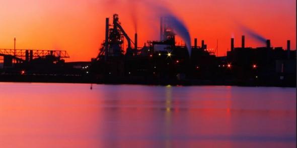 Feinstaub und verhinderte Rgeln für die Stahlindustrie. Photocredit: Billy Wilson Flickr